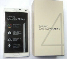New Samsung Galaxy Note 4 SM-N910 -32GB -White AT&T-T-Mobile Unlocked Smartphone