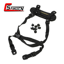 EMERSON Hunting H-Nape Strap Retention System for ACH MICH Helmet Tactical Black