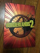 Borderlands 2 Steelbook Edition (Microsoft Xbox 360, 2012) W/Manual