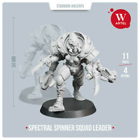 Spectral Spinners Squad Leader- Artel W-  Eldar Aeldari Warp Spiders Spiritseer