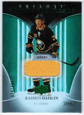 18/19 2018 UD TRILOGY HKY GREEN FOIL ROOKIE JERSEY CARDS #51-80 U-Pick From List