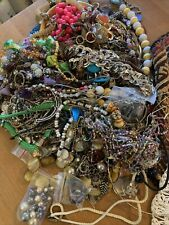 Huge Costume Jewelry Lot 6 Pounds Necklaces Earrings Craft Wear Lia Sophia Other