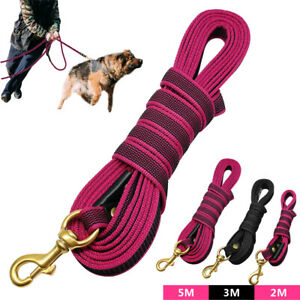 Strong Durable Nylon Dog Training Leash Recall Obedience for Large Dogs PITBULL