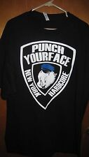 PUNCHYOURFACE OFFICER PORKY TSHIRT PUNCH YOUR FACE NYHC