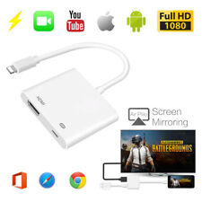 HDMI For iPad iPhone Portable Lightning to Digital AV TV Cable Adapter Connector