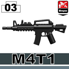 M4 (W131) Carbine Assault Rifle Compatible With Toy Brick Minifigures