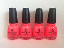 China Glaze Nail Polish Brights Lights and Neons & Summer 2016 Collection Pool Party