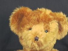 BIG CINNAMON BROWN RUSS TEDDY BEAR SHAGGY LOVEY SOFT PLUSH STUFFED ANIMAL TOY