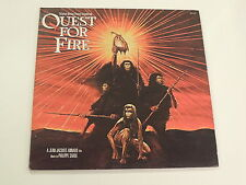 PHILIPPE SARDE QUEST FOR FIRE Lp RECORD GATEFOLD THE ORIGINAL MOVIE SOUNDTRACK