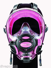 Ocean Reef Neptune Space G.divers Full Face Diving Mask Small/Medium Pink