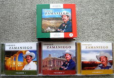 ENRIQUE ZAMANIEGO (SAMANIEGO) 3 CD BOX SET Paseando Por Zacatecas VOL 1,2,3 NICE