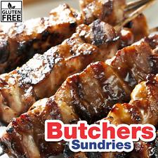 Carniceros misceláneas sin gluten Smokey barbacoa esmalte 250G/Adobo/carne Rub