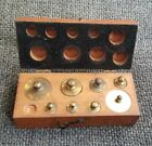 Set 7 Antique Apothecary Balance Scale Weight