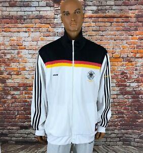 ADIDAS ORIGINAL GERMANY DEUTSCHLAND JACKET CHAMPIONS EURO 1980 VINTAGE SIZE XXL