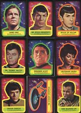 Star Trek 1976 Topps Vintage Sticker Card Set 22 Sticker Cards
