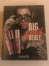 "Benefit They'r Real ""Big Sexy Deal""Mini Set Black Mascara, Red Lip, Tint Primer"