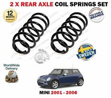 PER BMW MINI R50 R53 UNO COOPER 1.4D 1.6 2001-2006 NUOVO 2 x MOLLA post. Set
