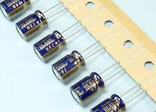 105C 5 x 10V 470UF Condensatore elettrolitico in alluminio pacco da 5 12mm x 6mm