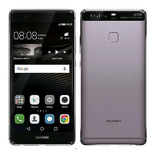 New Huawei P9 EVA-L09 TitaniumGrey SIM free smartphone JAPAN EMS F/S