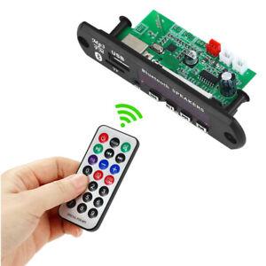 VICFINE 2*15W MP3 Player Decoder Board 12V Bluetooth 5.0 30W Car FM Radio
