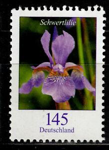 Bund 2507 R **, Rollenmarke mit Nr., 145 C. Freimarke Blumen