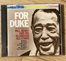 FOR DUKE - Bill Berry & Ellington All Stars - M&K Real Time Sanyo Japan cd TAS