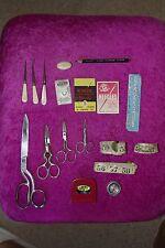 Vintage / Antique Sewing Items - Mixed Lot / Bundle