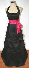 Niki Livas Pageant Prom Formal Evening Size 2 Black Long Dress Evening Gown