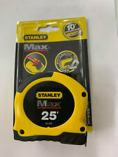 1 - 25' Stanley Max Tape Measure # 33-279