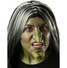 Witch Nose - Green - Latex Prosthetic - Theatrical Makeup - Adult Teen
