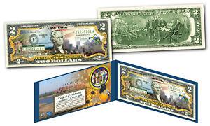 MARYLAND Genuine Legal Tender $2 Bill USA Honoring America's 50 States