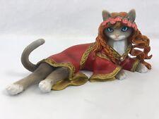 Kitty Guinevere Divine Feline Cat Figurine Bradford Exchange Stunning
