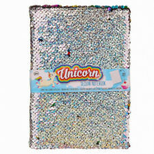Unicorn Sequin Notebook Sparkly Notepad Gift NPW