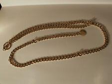 Vintage Nine West Gold Tone Chain Link Ladies Belt