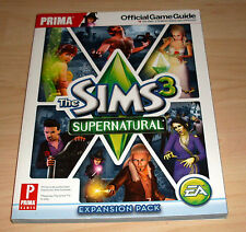 The sims 3-super Natural-prima Official Game Guide (jeux conseiller solution)