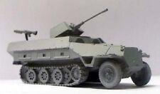 Milicast BG021 1/76 Resin WWII German SdKfz 251/17 Ausf. D 2cm AA w/Small Turret