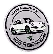 NUOVO ORIGINALE PORSCHE RS 2,7 COLLECTION grill griglia Badge LTD EDITION wap0500100g