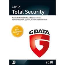 G Data TOTAL Security 2017/2018 * 1 PC * 1 Jahr * Lizenz * Vollversion