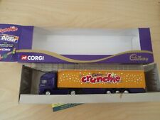 59501 Corgi: Cadbury's CRUNCHIE Livery ERF Curtainside Trailer, NEW, vnm Box