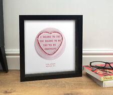 The Lumineers HO Hey | Love Coeur Sweet (TRÉSOR) cadeau Saint Valentin Mariage