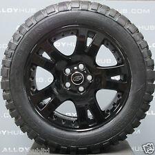 """Genuine Land Rover Discovery 4/3 19"""" POUCES Noir Roues en Alliage et boue T PNEUS X4"""