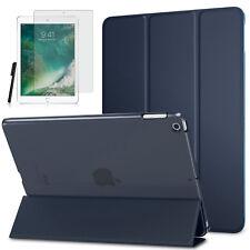 Smart Cover f. Apple iPad 9.7 (2017 / 2018) New Schutzhülle +Folie Dunkelblau -3
