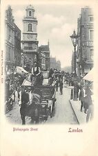 BR65800 bishopsgate street chariot london  uk