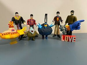 McFarlane The Beatles Series The Yellow Submarine Loose Figurines