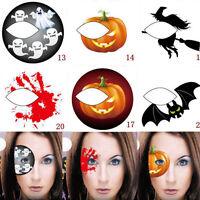 Halloween Eyeshadow Temporary Eye Tattoo Party Eyeliner Transfer Sticker Makeup