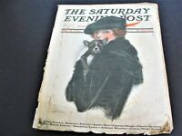 1920 Feb.14-THE SATURDAY EVENING POST MAGAZINE-Front cover by C. F. Underwood.