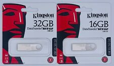 Kingston DataTraveler SE9 G2 USB 3.1/3.0/2.0 16GB 32GB Flash Drive Thumb Drive