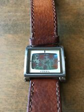 Fossil Big Tic Women's Watch ES-1126 With Leather Band
