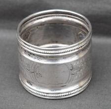ROND de SERVIETTE en ARGENT MASSIF MINERVE  solid silver napkin -