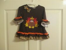 Rare Editions Girls Size 18Months Thanksgiving Top